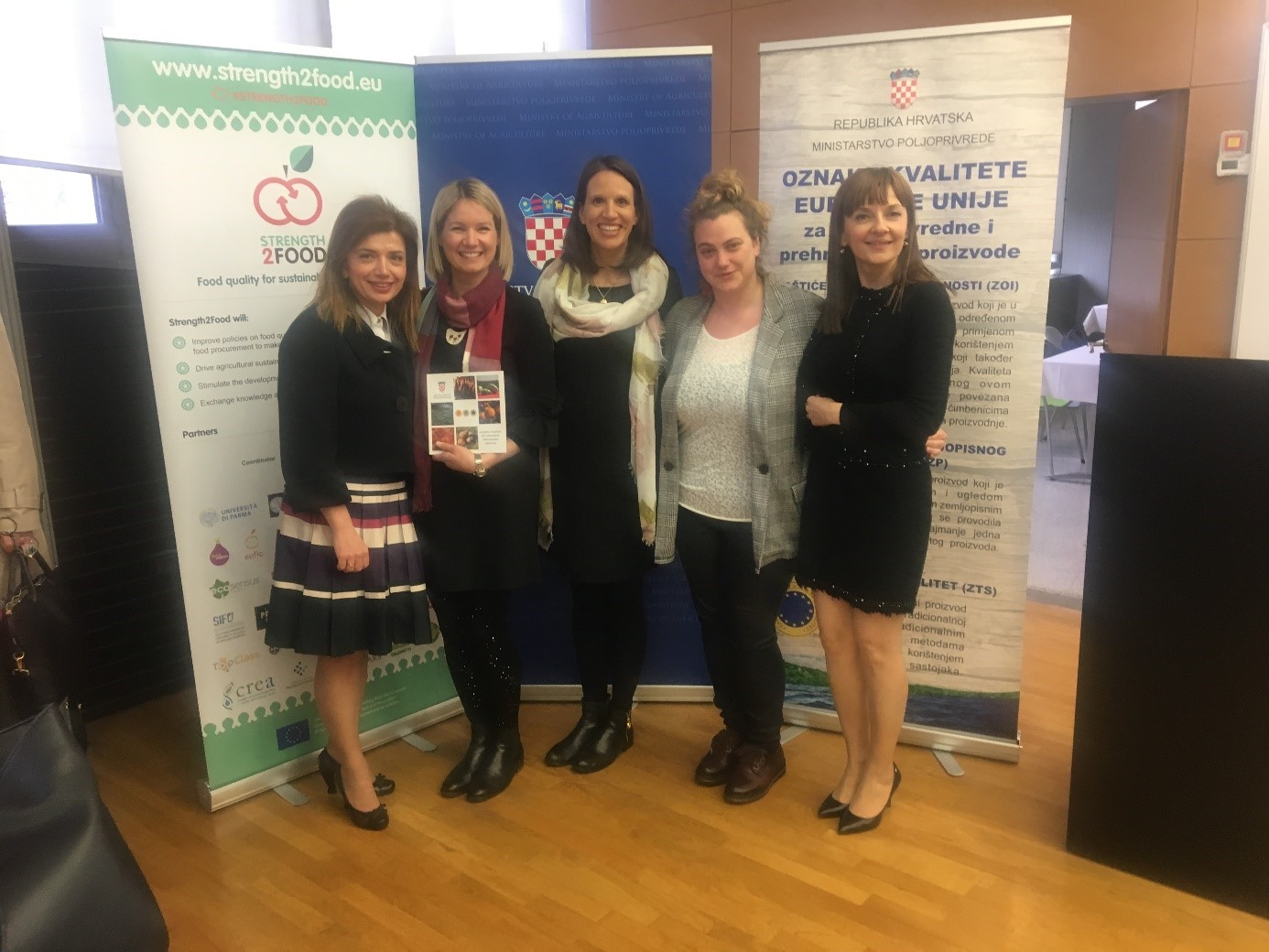 Strength2Food Researchers Co-operate with the Croatian Ministry of Agriculture to Mark the day of Croatian Protected Products