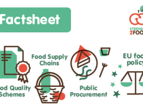 Factsheet 5 – A Multi-actor Approach for Sustainable Food Chains: A Delphi Exercise to Define Policy