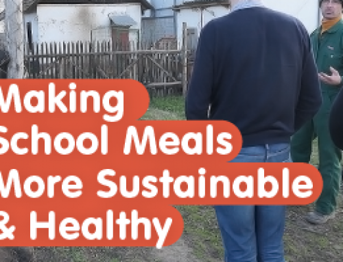 Podcast: Making School Meals More Sustainable & Healthy (ft. Dr Richard Simmons)