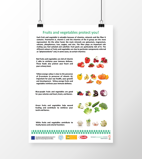 Strength2Food - Fruits and vegetables protect you